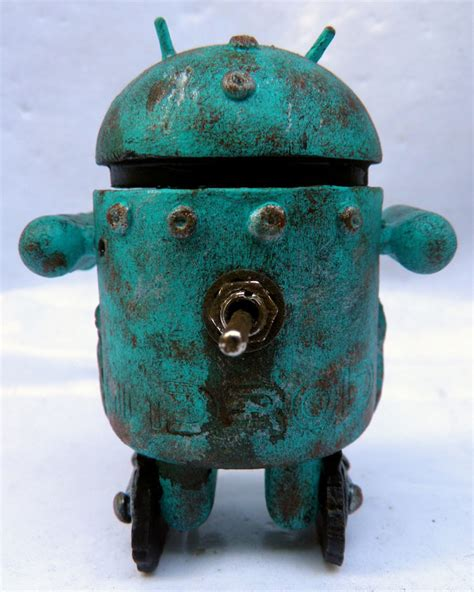 The Rusty Android 4 Custom Plastic And Plush