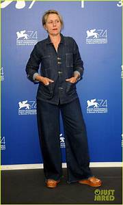 Frances McDormand Got Very Animated During Venice Events ...