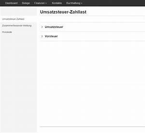 Emodul Berechnen : umsatzsteuer voranmeldung elstern mit lexoffice ~ Themetempest.com Abrechnung