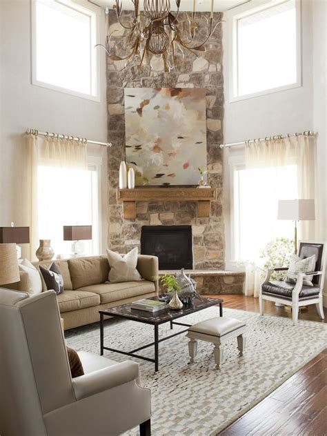 Living Room With Sectional And Corner Fireplace by 1000 Ideas About Corner Fireplace Mantels On