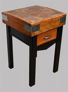 Billot De Boucher Ikea : billot de boucher ancien sur pieds m talliques ~ Voncanada.com Idées de Décoration