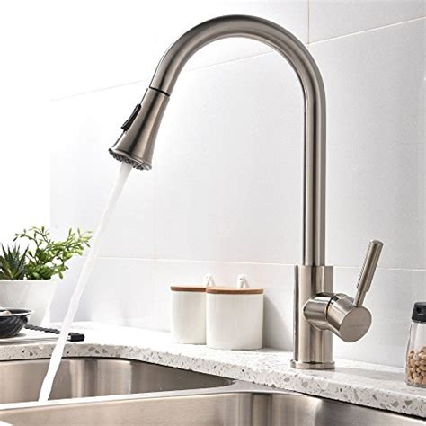 Touch Kitchen Sink Faucet by Hotis Home Touch On Kitchen Sink Faucets Modern Swivel
