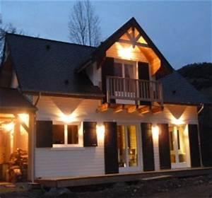 comment eclairer l39exterieur d39une maison habitatpresto With eclairage exterieur facade maison