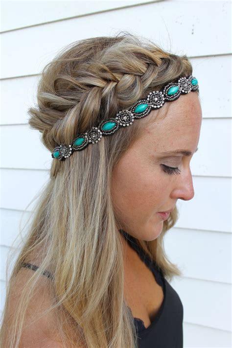 25 Best Ideas About Headband Hairstyles On Pinterest