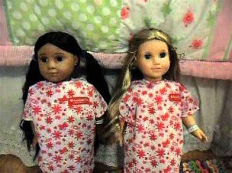 american girl doll hospital visit youtube