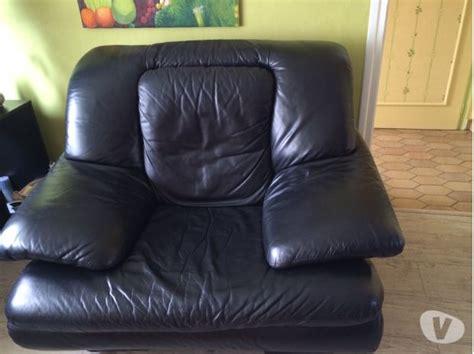 canapé cuir usé canapé fauteuil cuir véritable clasf