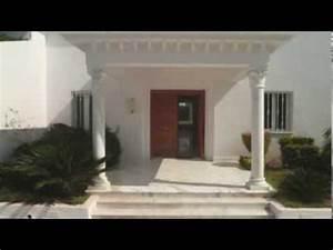 villa vente soukra tunis tunisie youtube With modele de maison en l 5 image maison tunisienne