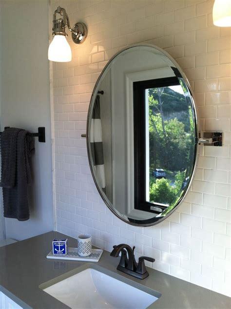 bathroom ideas framed oval home depot bathroom mirrors