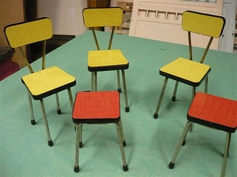 chaises formica chaises et tabourets en formica pour poupées the jolly family