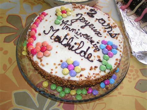 anniversaire cuisine cuisine decoration gateau chocolat simple design intã