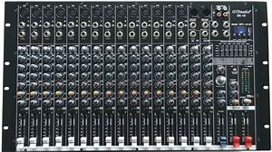 4000 Watts 16 Channel Professional Powered Mixer Power