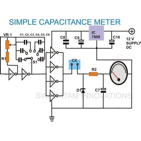 How Build Simple Analogue Capacitance Meter