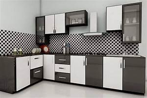 modular kitchen designs black and white modular kitchen With modular kitchen designs black and white
