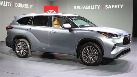 toyota highlander preview