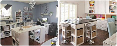 faire un bureau d angle soi meme inspirations atelier loisirs créatifs une craft room pastel