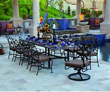 Garden Dining Sets Asda by The Top 10 Big Patio Dining Sets Of 2013