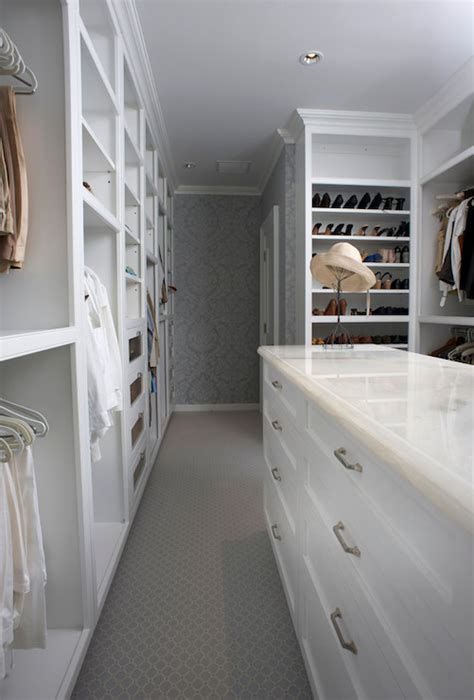 wallpaper  closet transitional closet east