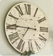 Wall Clocks Large by Oversized Wall Clock From Old Tabletop