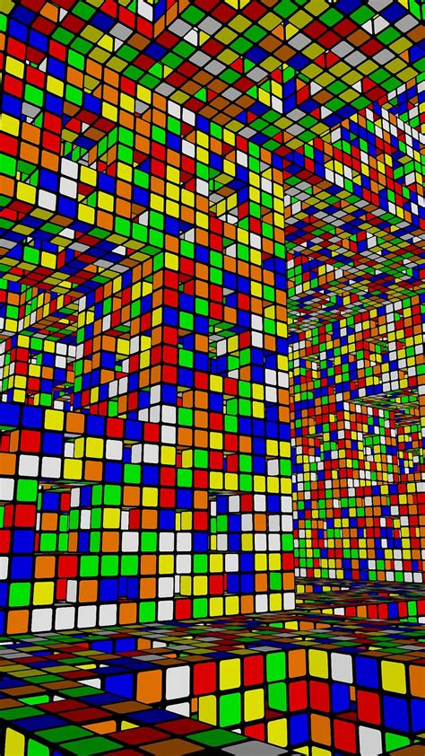 3d Hd Wallpapers For Iphone 6 by Colorful 3d Blocks Design Iphone 6s Wallpapers Hd