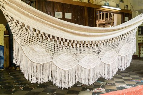 Cotton Hammocks by Macrame Hammock Handmade Mayan 100 Cotton Hammock