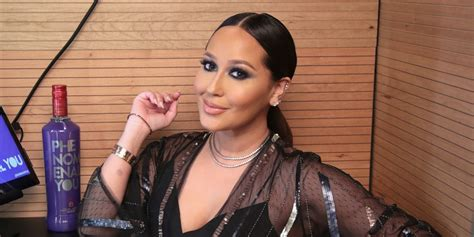 On The Real! Adrienne Bailon Admits She's Flaunting Fake