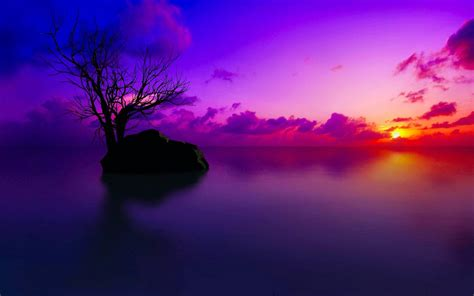 Nature HD Wallpapers Purple Sky - Wallpaper Cave