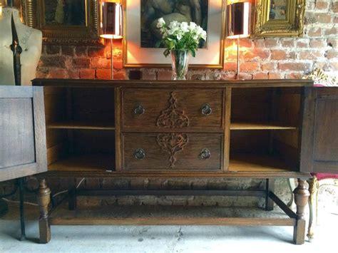 Carved Oak Sideboard by Antique Edwardian Carved Oak Sideboard Cupboard At