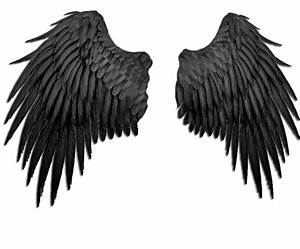 black angel wings by Marioara08 on DeviantArt