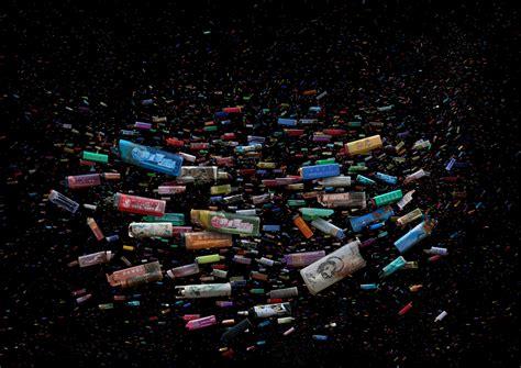 artful swirls  plastic marine debris documented