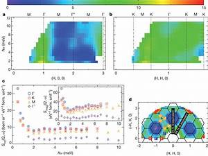 Inelastic Neutron Scattering Measured Along Symmetry