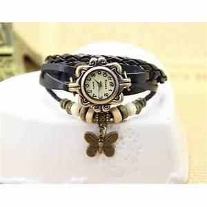 Retro Uhr Damen : vintage damen wickel armbanduhr retro uhr mit schmetterling charm anh nger neu ebay ~ Markanthonyermac.com Haus und Dekorationen