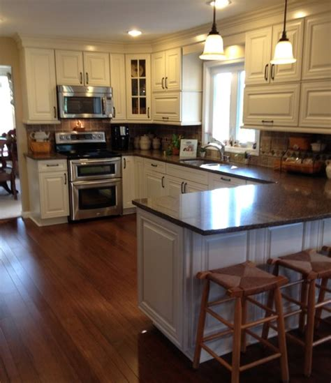 cream glazed kitchen cabinets best colors kitchens reface kitchen cabinets