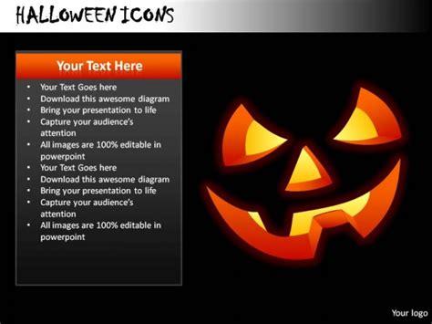 halloween icons powerpoint