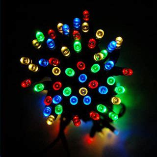 10m 80 led solar string fairy christmas lights canada 1