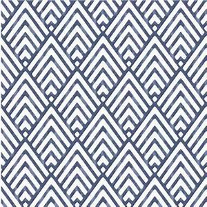 Papier Peint Bleu Foncé : papier peint autocollant pointe de fl che bleu fonc ~ Melissatoandfro.com Idées de Décoration