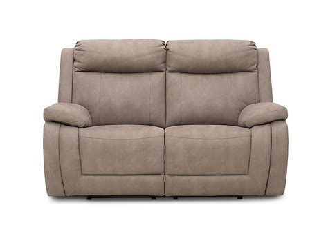 San Marco Fabric 2 Seater Sofa With Electric Recliners