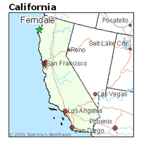 places    ferndale california