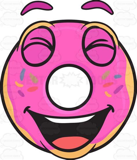 Emoji Happy Face Donut