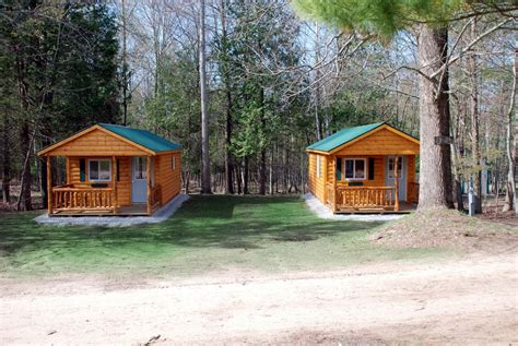 cgrounds with cabins cabin rentals at river view cground canoe livery