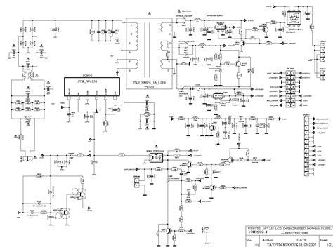 vestel fan7311 17ips02 19 22 inch inverter service manual schematics eeprom repair