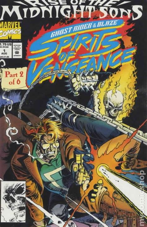 ghost rider blaze spirits  vengeance  comic books
