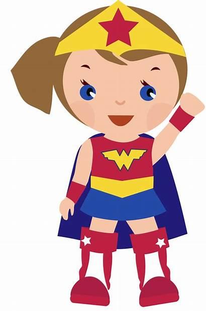Superhero Clip Cliparts Clipart Super Hero Supergirl