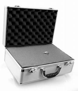 Cases By Source SV15106 Smooth Silver Aluminum Case with ...