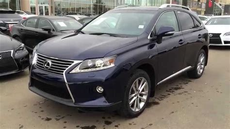 blue lexus 2015 new blue deep sea mica 2015 lexus rx 350 awd technology