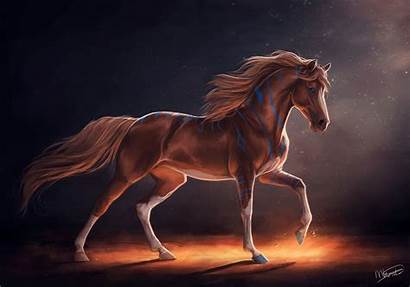 Horse Fantasy Animals Wallpapers Horses Caballo Arte