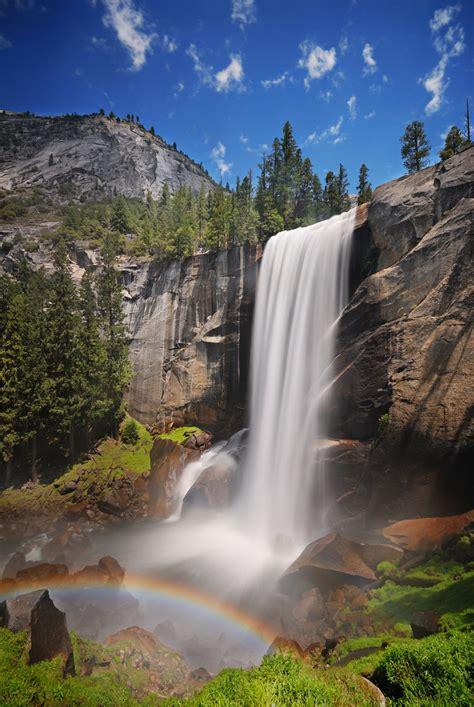 vernal falls yosemite park  waterfalls   dreams
