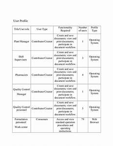 user requirements specification linda doll With user requirement document template