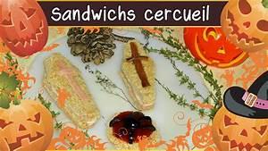 Recette Halloween Salé : cuisine recette des sandwichs cercueil halloween recette ~ Melissatoandfro.com Idées de Décoration