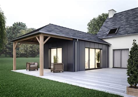 maison en bois en kit belgique d 233 coration extension maison traditionnelle 91 extension maison ossature bois prix