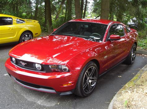 red candy  ford mustang gt coupe mustangattitudecom